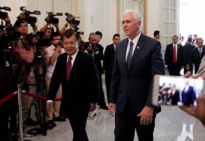 امریکا اور انڈونیشیا کے درمیان 10 ارب ڈالر کے سمجھوتوں پر دستخط