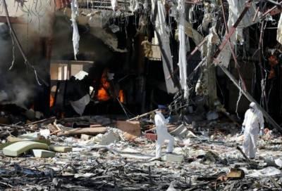 یمن میں عرب اتحادی طیاروں کی بمباری میں سترہ باغی ہلاک ، بیس سےزائد باغی شدید زخمی