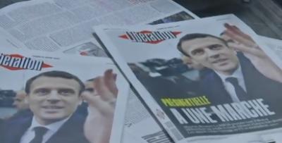 فرانس کے صدارتی انتخابات کے پہلے راؤنڈ میں امینیول میکخواں اور انتہائی دائں بازو کی ماری لا پین نے کامیابی سمیٹ لی