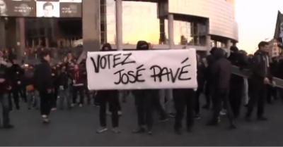 فرانس میں صدارتی انتخابات کے بعد پیرس میں ہنگامے پھوٹ پڑے