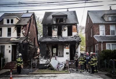 نیو یارک: رہائشی عمارت میں آگ لگنے سے 5 افراد ہلاک