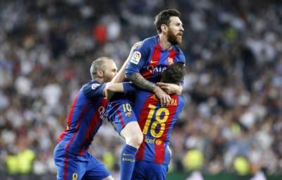 اسپینش لالیگا فٹ بال لیگ میں بارسیلونا نے ریال میڈرڈ کو دو کے مقابلے میں تین گول سے شکست دے دی