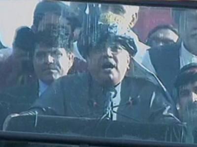اب ججز نے بھی گو نواز گو کہ دیا ہے, پختونوں کو ہم نے شناخت دی ہے,سابق صدر آصف زرداری