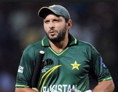 شاہد خان آفریدی نے پی سی بی کی جانب سے فئیر ویل لینے پر معزرت کر لی