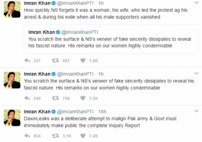 کپتان نے وزیراعظم نواز شریف پر تنقید کے نشتر برسا دئیے
