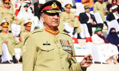 پاکستانی سپہ سالار کا دبنگ انداز--- ہمسایہ ملک کو دو ٹوک پیغام