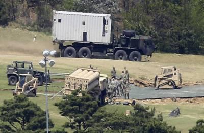 جنوبی کوریا میں نصب امریکی میزائل دفاعی نظام فعال
