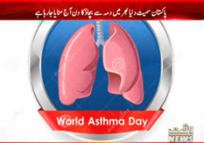 Avoiding Asthma Day is being celebrated today throughout the world, including Pakistan.