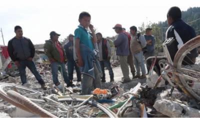 میکسیکو میں آتش بازی کے گودام میں دھماکے کے نتیجے میں14 افراد ہلاک ہوگئے