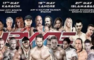 ریسلنگ کے دیوانوں کا انتظار ہوا ختم،کراچی میں آج سے انٹرنیشنل ریسلنگ مقابلے شروع ہونگے