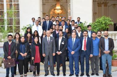 سفارت خانہ پاکستان پیرس فرانس میں پہلے پاکستانی نوجوانوں کے کنونشن کا انعقاد