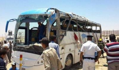 مصر: قبطی مسیحیوں کی بس پر فائرنگ,28 ہلاک