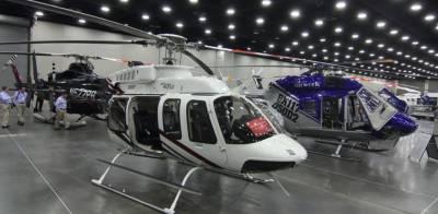 دنیا بھر کے ہیلی کاپٹروں کی نمائش روس میں
