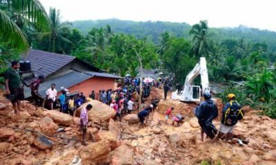 سری لنکا میں طوفانی بارشوں اور سیلاب نے تباہی مچادی۔
