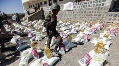 حوثیوں باغیوں نے امدادی سامان کے 63 جہاز اور 550 قافلے لوٹ لئے۔