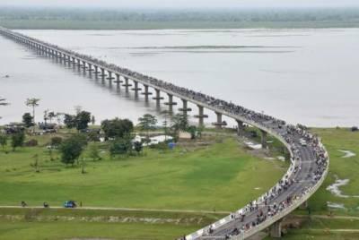 چینی سرحد کے قریب طویل ترین بھارتی پل کھول دیا گیا۔