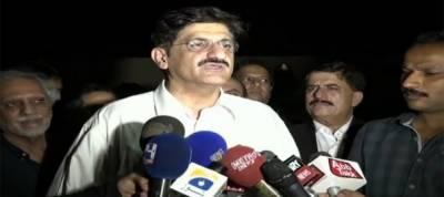 رات گئے کراچی میں جاری ترقیاتی کاموں کا جائزہ