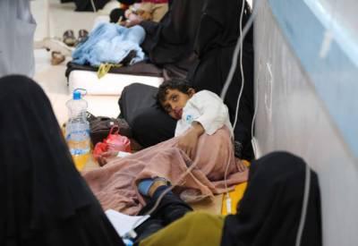عالمی ادارہ صحت نے یمن میں پھیلنے والی ہیضے کی بد ترین وبا سے نمٹنے کیلئے سے مدد مانگ لی۔