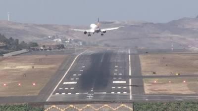 پرتگال کا کرسٹیانو رونالڈو ائیرپورٹ ہوا کے شدید دباؤ کے باعث لینڈنگ کیلئے انتہائی خطرناک بن گیا۔