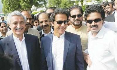 توہین عدالت کی درخواست پر عمران خان نے الیکشن کمیشن میں جواب جمع کرادیا،