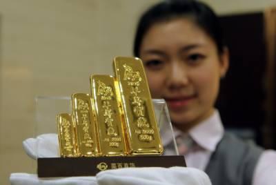 چین سونے کی درآمدات میں 33.5 فیصد کمی