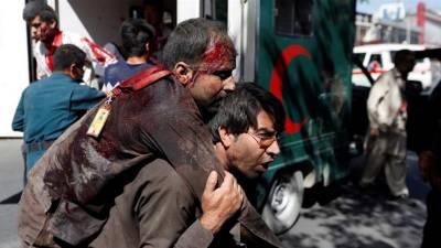 کابل کے سفارتی علاقے میں بم دھماکہ، 80 افراد ہلاک، 300 سے زیادہ زخمی
