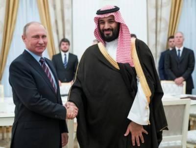 سعودی نائب ولی عہد کی روسی صدر سے ملاقات