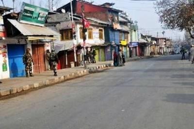 مقبوضہ کشمیر میں مسلسل کرفیو اور پابندیوں کی وجہ سے لوگوں کو شدید مشکلات کا سامنا