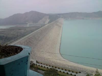 تربیلا ، منگلا اور چشمہ کے آبی ذخائر میں پانی کی آمد و اخراج پر مبنی رپورٹ جاری