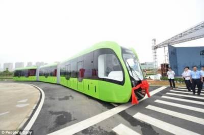 چین میں دنیا کی پہلی ورچیول ٹریک ٹرین تیار کر لی گئی ہے