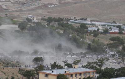 افغان سینٹ کے ڈپٹی چیئرمین کے بیٹے کی نماز جنازہ پر3خودکش حملے, دھماکوں میں 20 افراد جاں بحق اور درجنوں زخمی ہوئے، افغان حکام