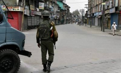 شوپیان:بھارتی فوج کی فائرنگ سے نوجوان طالب علم کی شہادت پر مکمل ہڑتال