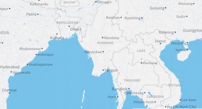 میانمار کا فوجی طیارہ لاپتہ، سمندر میں گرکر تباہ ہونے کا خدشہ