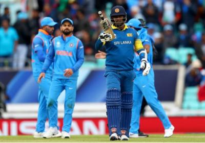 چیمپئنز ٹرافی:سری لنکن نے بھارت کو 7 وکٹوں سے شکست دیدی