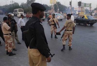 کراچی: پولیس اور رینجرز کی کارروائی، 20سے زائد گرفتار