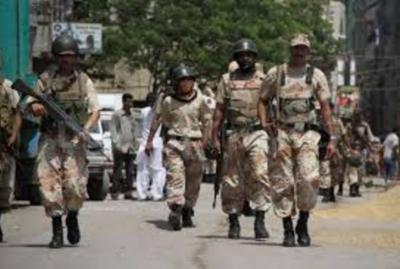 کراچی:رینجرزکی کارروائی، سہراب گوٹھ سے 3 انتہائی مطلوب ملزم گرفتار