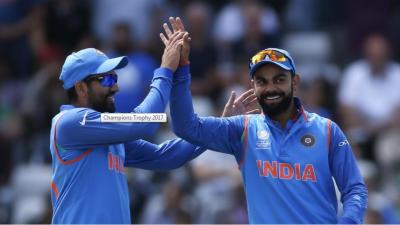 بھارت نے چیمپئنز ٹرافی کے دوسرے سیمی فائنل میں بنگلا دیش کو نو وکٹوں سے شکست دے کر فائنل کے لیے کوالیفائی کرلیا