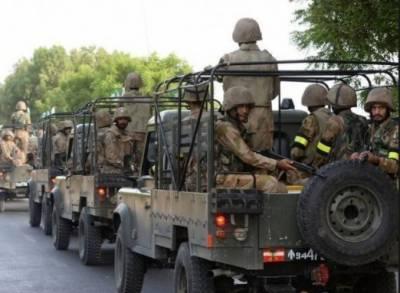 سکیورٹی فورسز کی بروقت کارروائی نے شرپسندوں کا تخریب کاری کا منصوبہ خاک میں ملا دیا