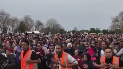 ہاکا کا ورلڈ ریکارڈ توڑنے کیلئے نیوزی لینڈ میں سات ہزار سات سو افرادایک ساتھ جمع ہوگئے،،،