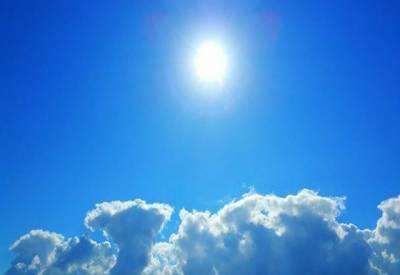 بارش کے ایک دن بعد ہی سورج پھر سے آنکھیں دکھانے لگا۔