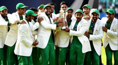 بھارت کو دھول چٹانے کے بعد پاکستان ٹیم کے چار کھلاڑی وطن واپس پہنچ گئے