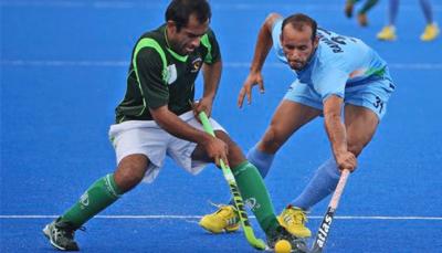 ورلڈ کپ ہاکی کوالیفائنگ راؤنڈ کے میچ میں بھارت نے پاکستان کو ایک کے مقابلے میں چھ گول سے شکست دے دی