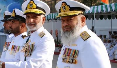 پاک بحریہ کے آفیسرز اور جوان ہر قسم کے حالات میںملکی دفاع کی خاطر قربانی دینے کے لئے تیار ہیں,چیف آف دی نیول اسٹاف ایڈمرل ذکاءاللہ