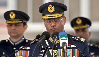ہمسایہ ممالک پاکستان میں دہشتگردی کے بجائے اپنے ہاں دہشتگردی کیخلاف جنگ لڑیں:ایئرچیف مارشل سہیل امان