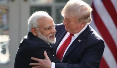 امریکی صدر ڈونلڈ ٹرمپ نے بھارت کو سچا دوست قرار دے دیا،،