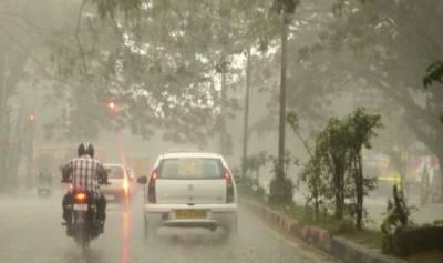 ملک میں مون سون کی بارشوں کا آغاز ہو گیا،،،
