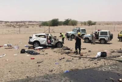 سعودی شہر جدہ میں خوفناک ٹریفک حادثہ،6 پاکستانیوں سمیت 9افراد جاں بحق