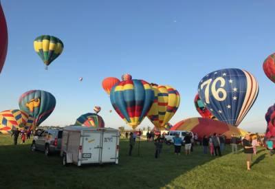 امریکی ریاست کولاراڈو میں سالانہ ہاٹ ائیر بیلون فیسٹیول کا انعقاد