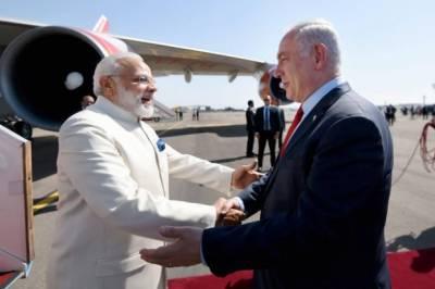 بھارتی وزیراعظم نریندر مودی آج کل اپنے سرکاری دورے پر اسرائیل میں ہیں