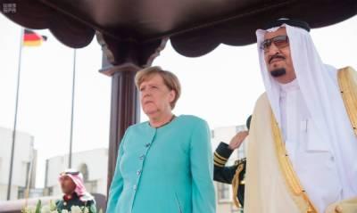 سعودی عرب کے فرمانروا شاہ سلمان بن عبدالعزیز اور جرمن چانسلر انجیلا میرکل کے درمیان خطے کی موجودہ صورت حال پر تفصیلی بات چیت ہوئی